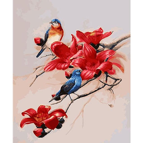 Bird Diy Paint By Numbers Kits PBN97281