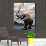 Animal Elephant Diy Paint By Numbers Kits PBN92292