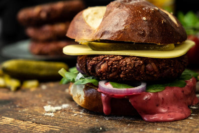 SUNFLOWER MINCE'S BEST VEGAN BURGER