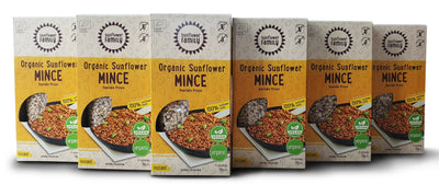 Organic Vegan Meal Plant Based Mince 6 Pack |  Wholesozo