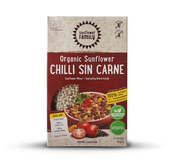 Organic Vegan Meal Plant Based Chilli Con Carne Mince Box |  Wholesozo
