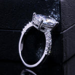 Oval Cubic Zircon Stone Ring