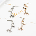 Giraffe Drop Style Earrings