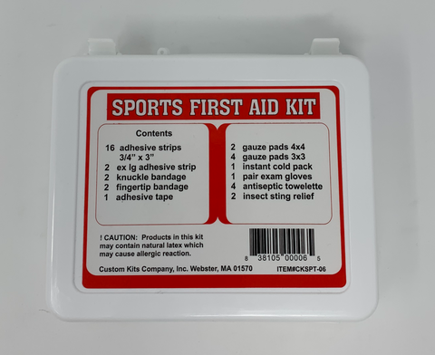 Image of Sports First Aid Kit Back Image