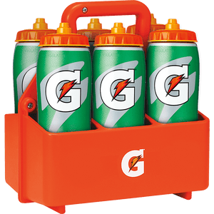 Gatorade Team Pack - 6x Gatorade Contour Bottles & Carrier