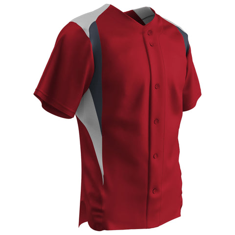 Image of Champro Bull Pen Full Button Jersey