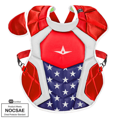 "All-Star Sports S7 AXIS™ USA Catchers Gear Set, AGES 12-16, 15.5"" - MEETS NOCSAE"