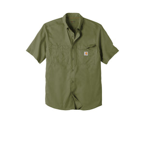 Carhartt Force Ridgefield Solid Short Sleeve Shirt