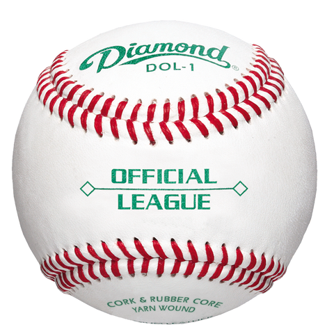 Image of Diamond DOL-1 Official League Leather Baseballs (Dozen)