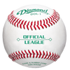 Diamond DOL-1 Official League Leather Baseballs (Dozen)