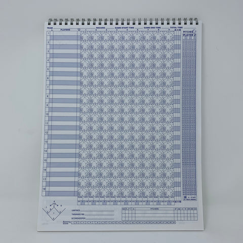 Image of Big Red 18 Baseball/Softball Scorebook