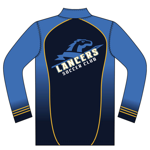 Champro Sublimated 1/4 Zip Long Sleeve Pullover