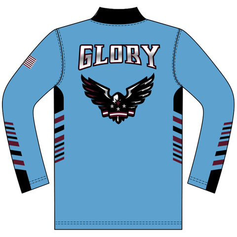 Image of Champro Sublimated 1/4 Zip Long Sleeve Pullover