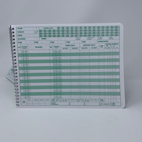 Image of Mark V Scorebook  Image
