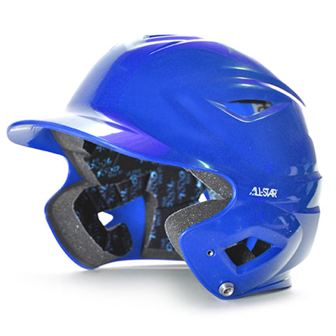 S7 Youth Solid Gloss Batting Helmet - Royal
