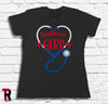 """Healthcare Hero"" Women's BELLA+CANVAS Women's Tee"