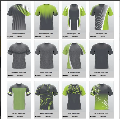 Image of Champro Custom Sublimated Crew Neck Jerseys:  Splash