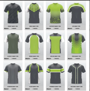 Champro Custom Sublimated Crew Neck Jerseys:  Splash