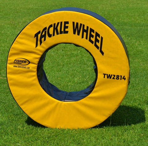 "Fisher 28"" dia. Football Tackle Wheel"