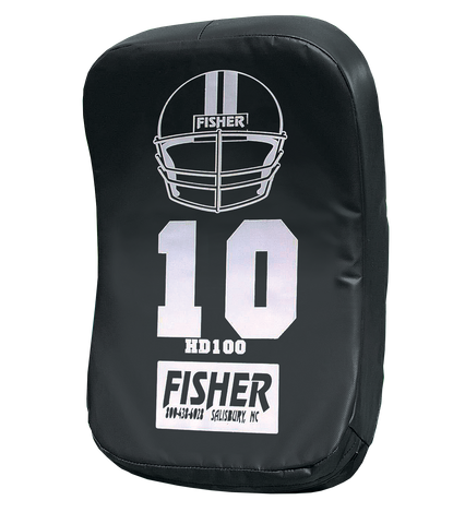 Image of Fisher Curved Football Blocking Body Shield