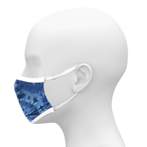 Image of 3-Ply Sublimated Mask - Tie Dri Patterns