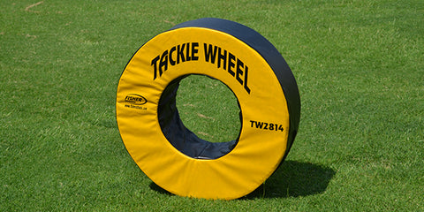 "Image of Fisher 28"" dia. Football Tackle Wheel"