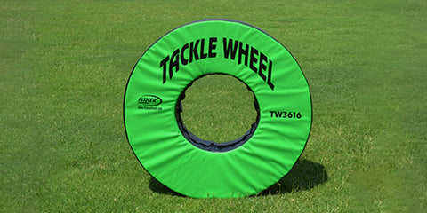 "Image of Fisher 36"" dia. Football Tackle Wheel"