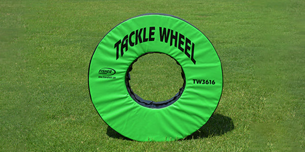 "Fisher 36"" dia. Football Tackle Wheel"