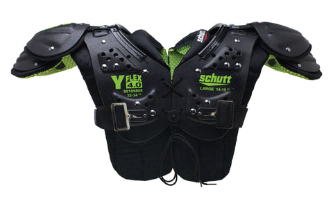 Schutt Y-Flex 4.0 Shoulder Pads