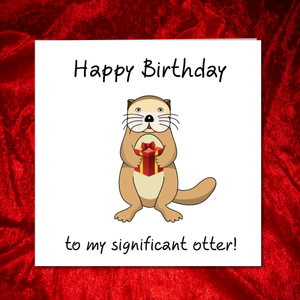 significant other birthday card