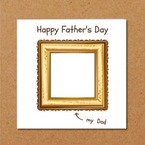 design your own fathers day card