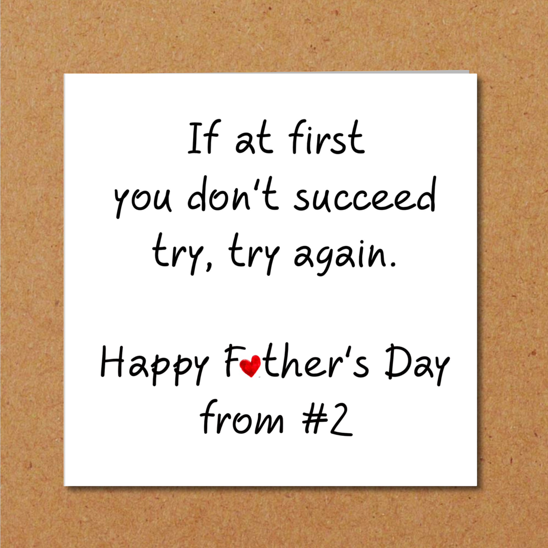 funny fathers day card