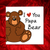 funny fathers day card bear dad