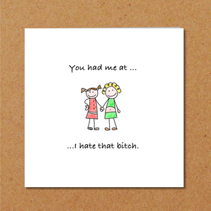 funny friendship card best friend