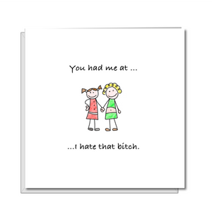 funny birthday card best friend female