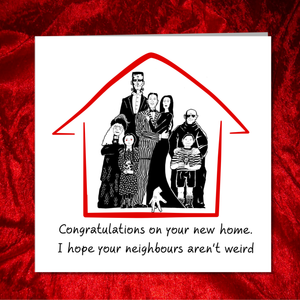 Funny NEW HOME Card - Congratulations Buying House - housewarming - friends family son daughter