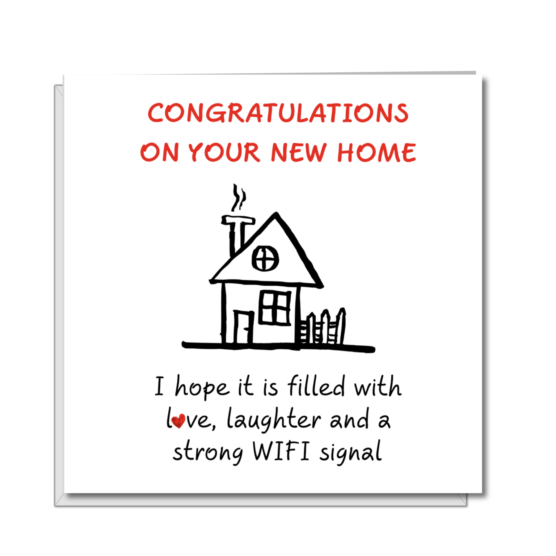 congratulations new home funny card