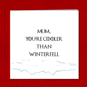 jon snow mothers day card