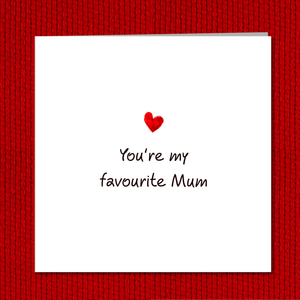 funny best mum mothers day card