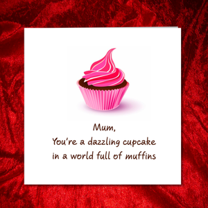 cake mothers day card