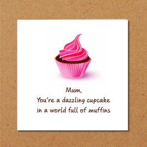 funny mothers day card mum