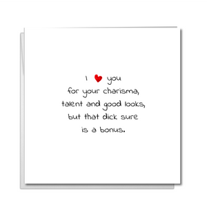 Funny boyfriend birthday card