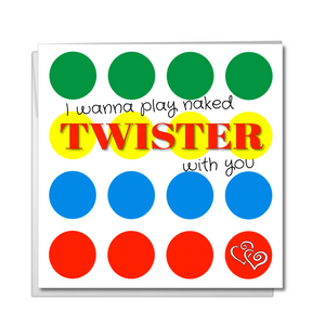 twister valentines card