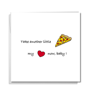 funny pizza card