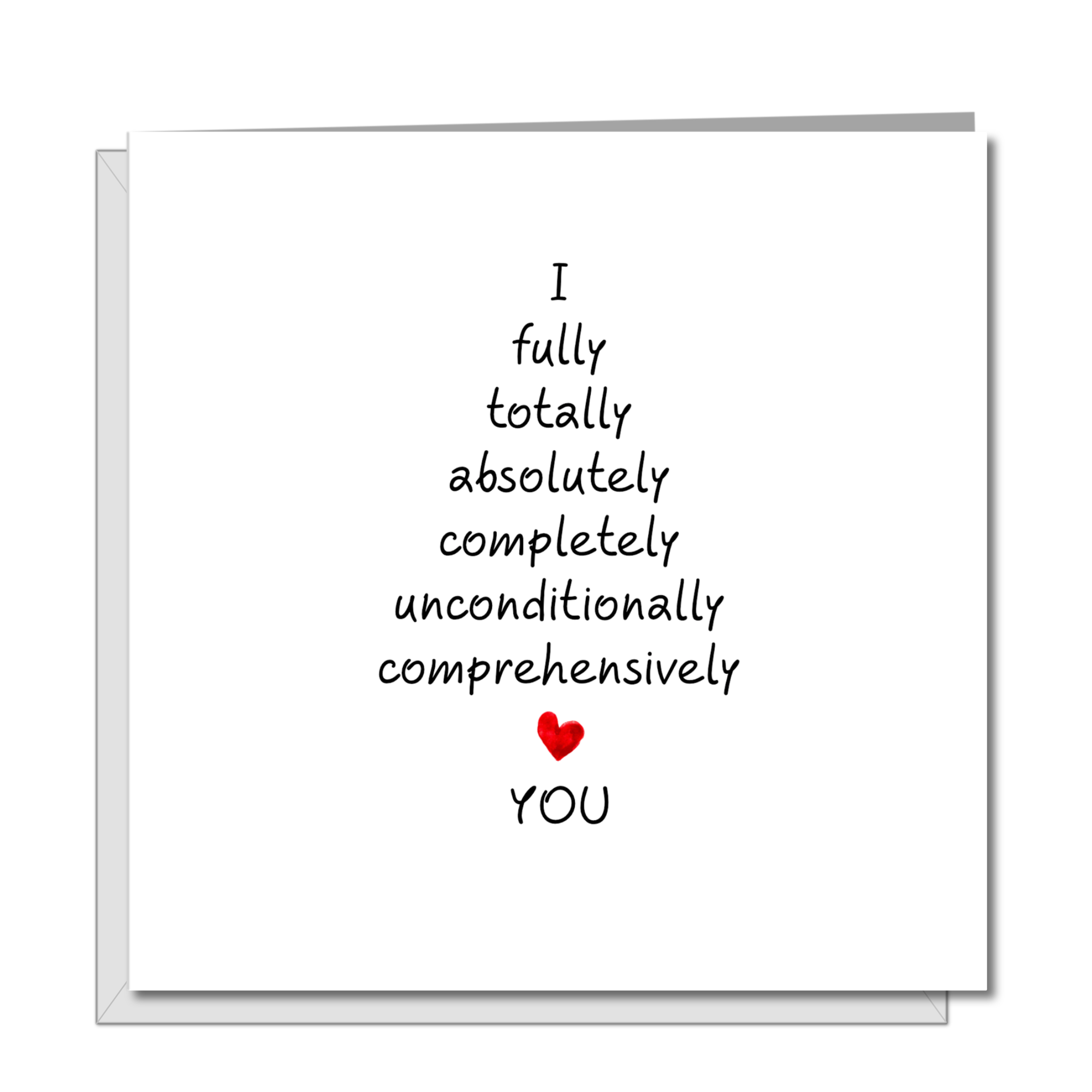 Romantic Anniversary Card - Birthday Card - Love Best Decision - Girlfriend, boyfriend, wife, husband - Engagement Valentines Day