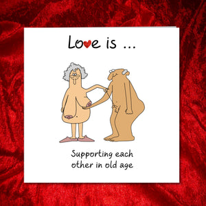 Love is Birthday Card