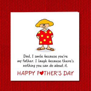 fathers day card humor