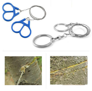 Emergency Survival Tool Survival Steel Wire Handsaw Camping Hiking Hunting Climbing Gear Outdoor Survival Emergency Cutting Tool