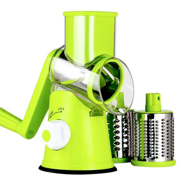 Multifunctional Vegetable Spiralizer Grater Roller Chopper Cheese Carrot Salad Cutter Vegetable Grater Cutter Slicer