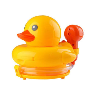 Funny Children Bathing Water bath Toy Electric Yellow Duck Water Spray Toys Cute Swimming Bath Toys